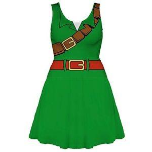 Legend of Zelda I am Link skater dress 🎮